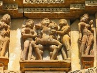 erotic pics inikep stone carved erotic sculptures hindu temple khajuraho madhya pradesh india photo