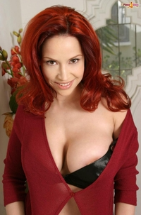 fit redhead galleries fit redhead bianca beauchamp black underwear