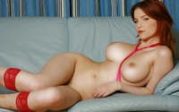 fit redhead wallpapers redhead nude shapely curvy
