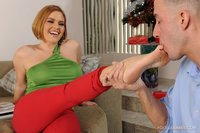 foot sex pictures krissy lynn tits foot fetish blonde straight gallery