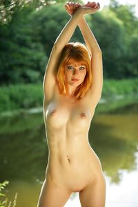 free nude redheads picpost thmbs curvy nude redhead out lake pics sexy ass sultry