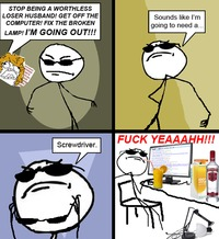 funny adult comics ffffuuuu screwdriver rage comic funny humor pictures comics