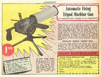 funny adult comics tripod machine gun strange world comic book ads