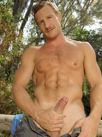 ginger porn pics danny harper chris porter randy blue gay porn star outdoor bridge woods nature redhead ginger fire crotch muscular power bottom tattoos mustache uncut cock xxx action six pack sexy unf have ever done