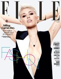 girl hot and sexy photo hot miley cyrus sexy cleavage cover girl elle magazine clevage