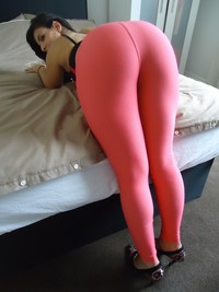 girls big big ass amateur porn ass girl booty spandex lycra leggings shi photo