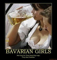 girls big jugs demotivational poster bavarian girls facebookview