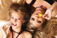 girls licking girls photos gdolgikh beautiful girls bright makeup licking lollipops photo