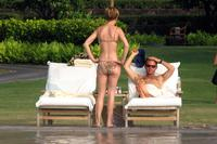 great ass shot attachments celebrity pictures hilary swank gold bikini great ass shots pool hawaii august