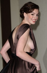 great boob photos best celebrity side boob anne hathaway chance beauty sideboob pictures