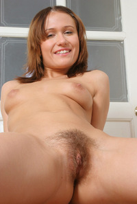 hair pussy hairypussy nasty girl short haircut shows hairy vagina