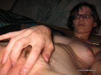 hairy muff sex skinny wife naked hairy pussy gets fingers