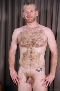 hairy porn pictures blond cub lincoln shows off his hairy body gay porn solo guy woof alert