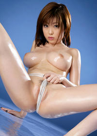 her pussy photos hamasaki rio shows off amazing boobs but pussy clit
