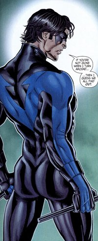 hot asses nightwing nicola scott hot