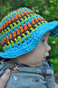 hot babies pics baby crochet sun hat summer free patterns toddler