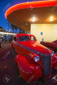 hot big bobs photo americanspirit classic cars hot rods diner bob boy riverside drive burbank california stock photo
