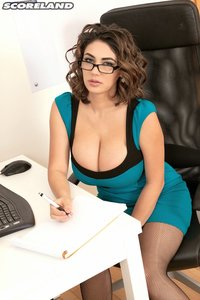 hot big tits porn pic alexya hot office chick