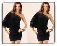 hot black sexy chicks wsphoto hot sale sexy ladies dresses party clubwear one size black item blue