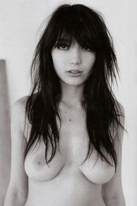 hot black sexy chicks daisy lowe hot topless black white