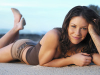 hot brunettes evangeline lilly entertainment who hottest woman alive question