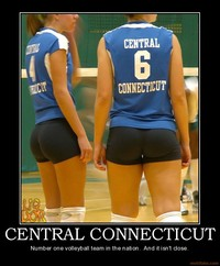 hot pictures of girls asses demotivational poster central connecticut girls ass volleyball hot sports facebookview