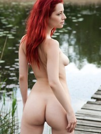 hot red head nude middle category amazing babes