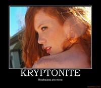 hot red head pics kryptonite redhead woman girl hot babe demotivational poster category uncategorized