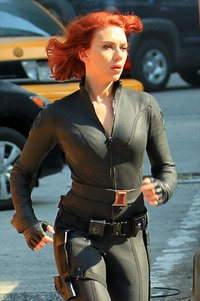 hot red head pics scarlett johansson hot redhead black widow avengers latex wallpaper