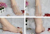 hot sexy feet photo item free shipping pair lot hot sale sexy barefoot anklet jewelry beach sandals