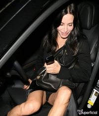 hot up skirt pictures courteney cox black panty flash upskirt celebrity hot rate lace thong