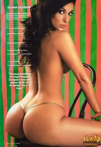 hottest nude model silvina escudero nude hottest playboy model from columbia