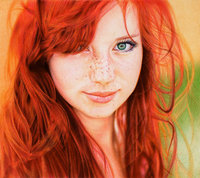 hottest redhead babes redhead girl ballpoint pen vianaarts sexy man