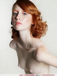 hottest redheads in porn sexy hot naked ginger rehdeads freckled pale