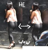 huge ass pictures girl tank pink heels black leggings huge ass fashion york city street style how much too