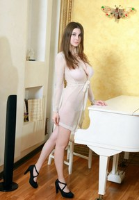 huge boobs on small girl russiasexygirls hot girl boobs posing near white piano vintage session three russian young girls outdoors
