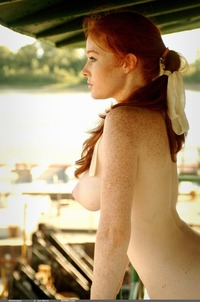 images of nude females bqed sexy hot redheads freckled perky