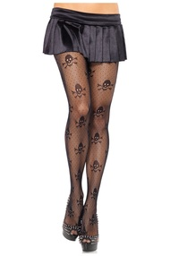 images pantyhose products skull print pantyhose pirate accessories page