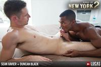 interracial fucking photos lucas entertainment kings york season sean xavier duncan black interracial fucking cock amateur gay porn category