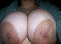large breasts big nipples closeup large breasts areolas small nipples