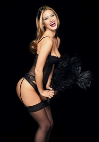 lingerie stockings pics bar refaeli hot black lingerie stockings garters bustier blonde