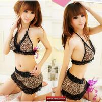 mini skirt sexy pics textiles asian sexy apparel pcs wild lace trim leopard bra set mini skirt string