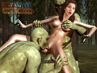 monster porn 3d pics pics hot babe trapped ork porn