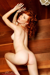naked hot redheads samples misha online hot nude redhead