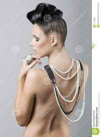 naked sexy girl photos girl nude back hairstyle royalty free stock photo
