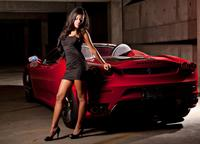 nice and sexy pics wallpapers people nice car sexy babe mini short