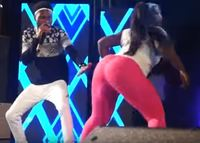 nice huge booty wan performs solo booty dancer decemba rememba gha category twerknology