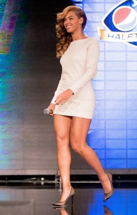 nice sexy ass pic gallery beyonce showing sexy ass nice legs super bowl halftime show press conference