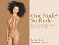 nude and lingerie nude lingerie range colour brand naja launches underwear all skin types