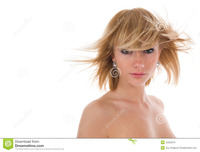 nude girl for free portrait nude girl green eyes royalty free stock photo